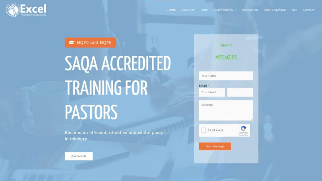 Excel Theological Training Academy