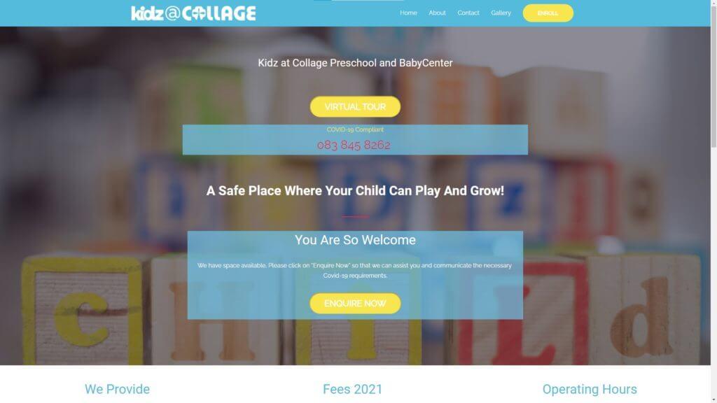 Kidz@Collage Preschool & Baby Center