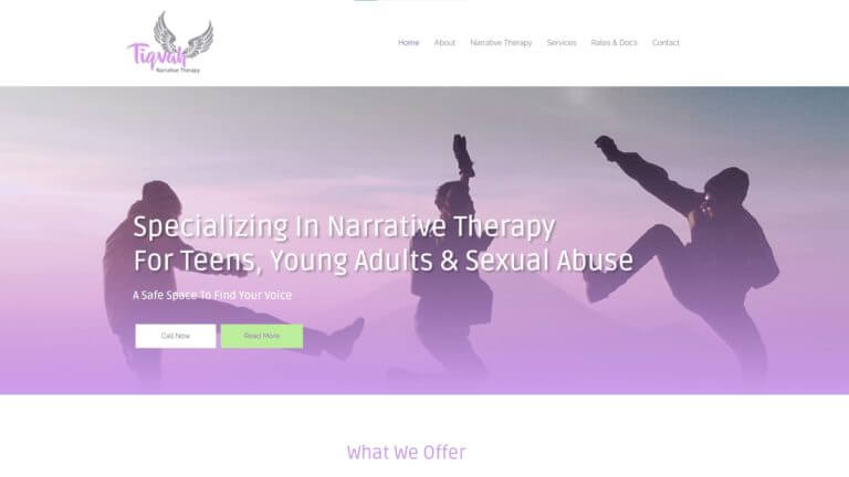 Tiqvag Narrative Therapy